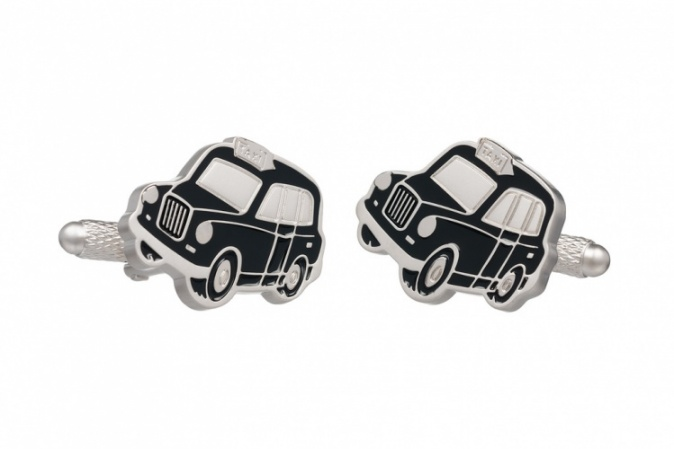 Black Cab Taxi Cufflinks